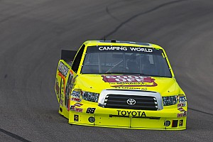 NASCAR Truck Race report Matt Crafton was top-finishing Toyota at Las Vegas