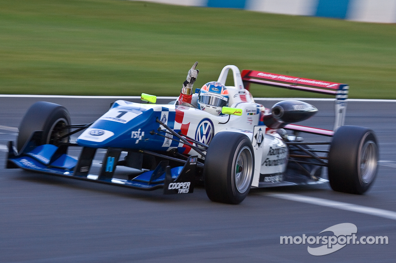 Volkswagen driver Jack Harvey is British Formula 3 Champion
