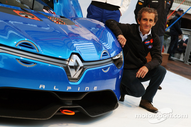 Prost could be first to test Renault's V6