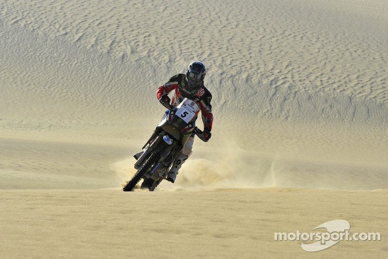 Husqvarna Rallye Team wins stage 4 in Pharaons Rally