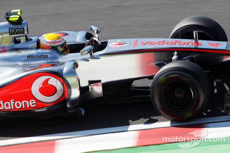 Hamilton logs McLaren details before Merc switch