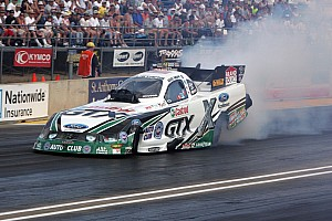 NHRA Qualifying report Neff qualifies third at Reading to lead JFR