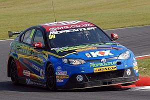 BTCC Race report Plato halves Shedden's lead after Silverstone double