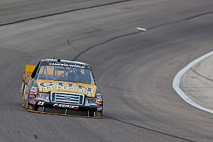 NASCAR Truck Race report Victory Lane hopes dashed for Jason White on last lap at Talladega