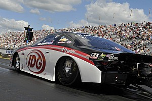 NHRA Race report Connolly races to another final round before finishing second at Reading