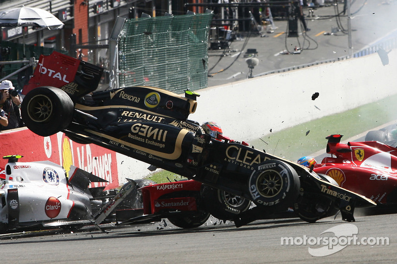 Grosjean's career not in danger 'for now' - Boullier