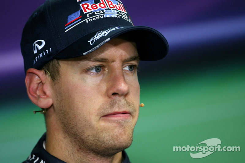 Pole-less Vettel angry with Red Bull engineer