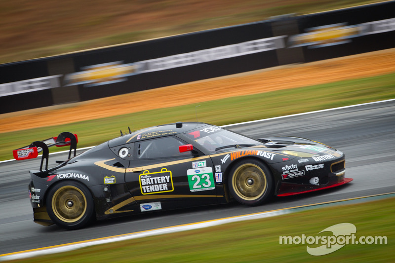 Lotus Alex Job Racing 11th in GT at Petit Le Mans