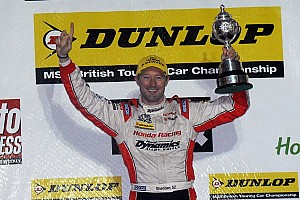 BTCC Breaking news Shedden takes crown at wet Brands Hatch