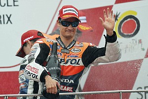MotoGP Race report First wet victory for Pedrosa and Team title for Repsol Honda in Sepang