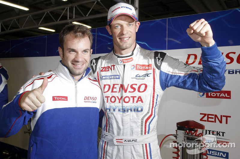 Wurz lands Toyota the pole in Shanghai