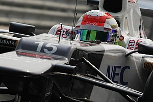 Formula 1 Qualifying report Sauber improve the performance in qualifying for Indian GP