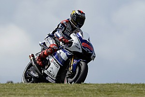 MotoGP Qualifying report Lorenzo qualifies second for final Valencia race
