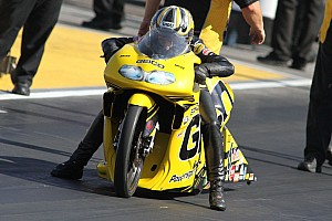 NHRA Race report Stoffer signs off with quarterfinal finish in Pomona finale
