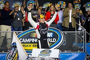 NASCAR Truck Breaking news James Buescher claims his first NCWTS Championship