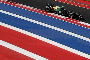 Formula 1 Qualifying report Caterham underperformed on US GP qualifying session