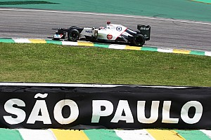 Formula 1 Race report High track temperatures affected Sauber's tires on Friday at Interlagos