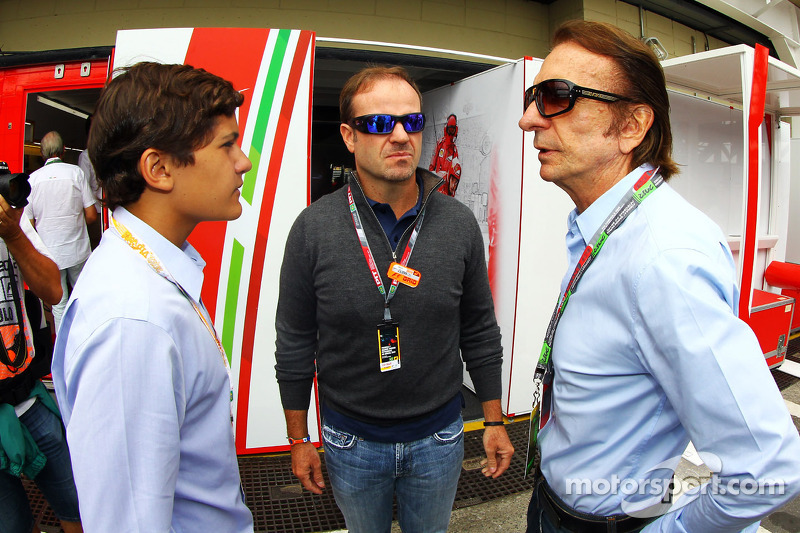 Caterham link 'just rumours' - Barrichello