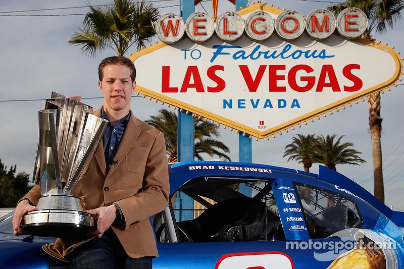 Day 1: Keselowski arrives in Las Vegas for Champion's Week