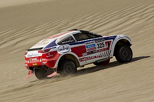 Dakar Stage report Stage 6 markis first top ten finish for Riwald team