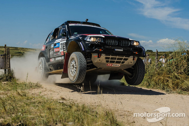 Argentinean Terranova Steals The 10th Stage In X Raid S Bmw X3