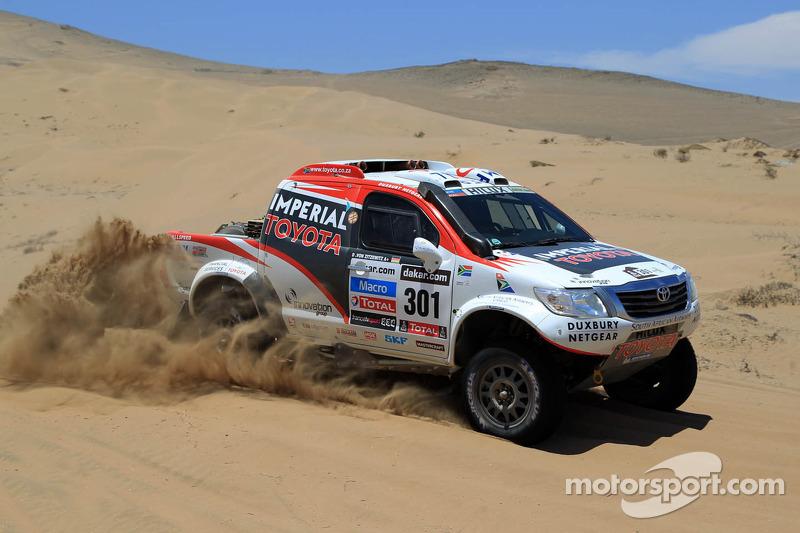 De Villiers and Von Zitzewitz join the Dakar elite