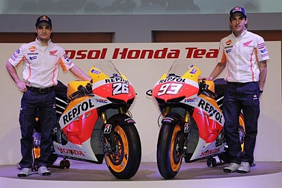 Repsol Honda presents 2013 rider line-up and livery to the world