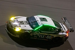 Grand-Am Race report Sprint race to the finish in GT for Porsche teams at Daytona  after 16 hours