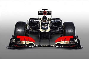 Formula 1 Breaking news Lotus thinks most teams will keep 'step' nose in 2013