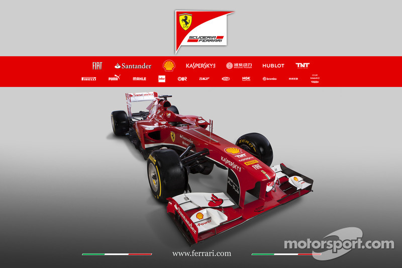Ferrari reveals details of their new challenger, the F138