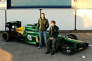 Formula 1 Breaking news Caterham unleashes their 2013 challenger: the CT03