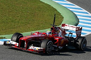 Formula 1 Testing report Massa puts Ferrari on top of timesheets on day 3 of testing in Jerez
