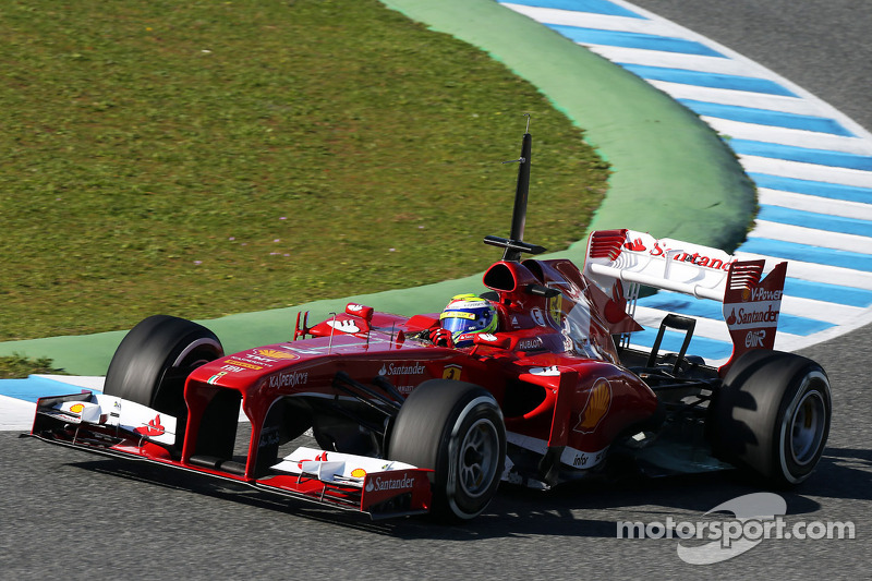 Massa puts Ferrari on top of timesheets on day 3 of testing in Jerez