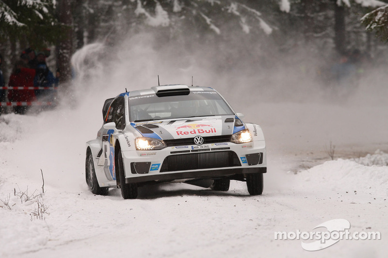 Impressive start in Sweden: Volkswagen tops qualifying