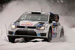 WRC Leg report Ogier dominates first leg in Sweden