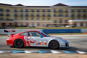 ALMS Testing report Flying Lizard successfully completes Sebring winter testing