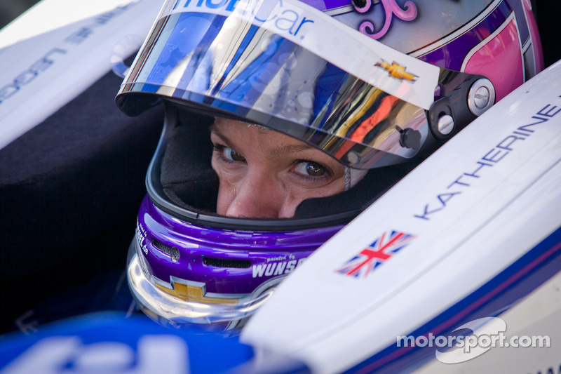 Legge speaks out on her termination from Dragon Racing