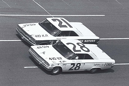 Tiny Lund and the Wood Brothers' improbable run to Ford's first Daytona 500 win