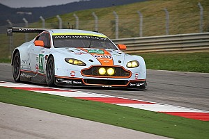 WEC Testing report Aston Martin tests New Vantage GTE at Portimao