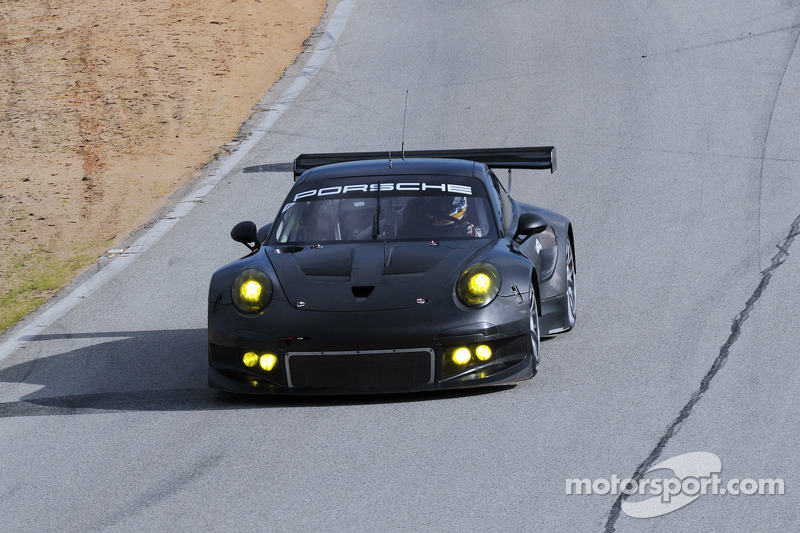 New Porsche 911 RSR successfully concludes test drives