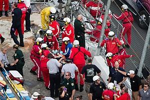 NASCAR XFINITY Breaking news Daytona International Speedway statement on NNS crash