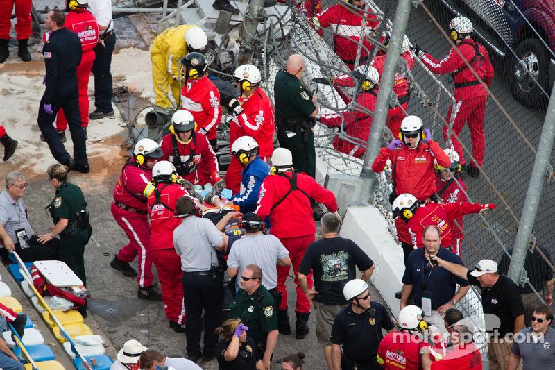 Daytona International Speedway statement on NNS crash
