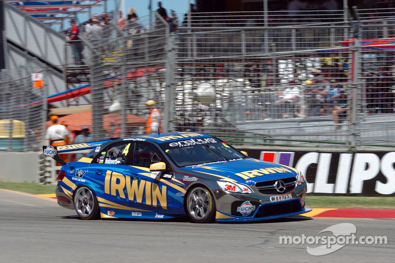 Lee Holdsworth toughs out blistered foot to finish 17th in Mercedes debut