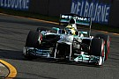 Even losing laps Mercedes made ​​the third fastest time on Friday practice in Australia