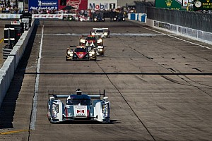 ALMS Race report Kristensen leads at halfway in Twelve Hours of Sebring