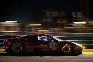 ALMS Race report Risi Ferrari finish second on its return but denited fairy tale finish at Sebring