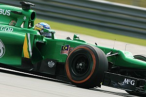 Formula 1 Qualifying report After qualifying Caterham focus on tomorrow Malaysian GP