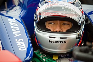 IndyCar Qualifying report Honda: front row start for Sato at St. Petersburg