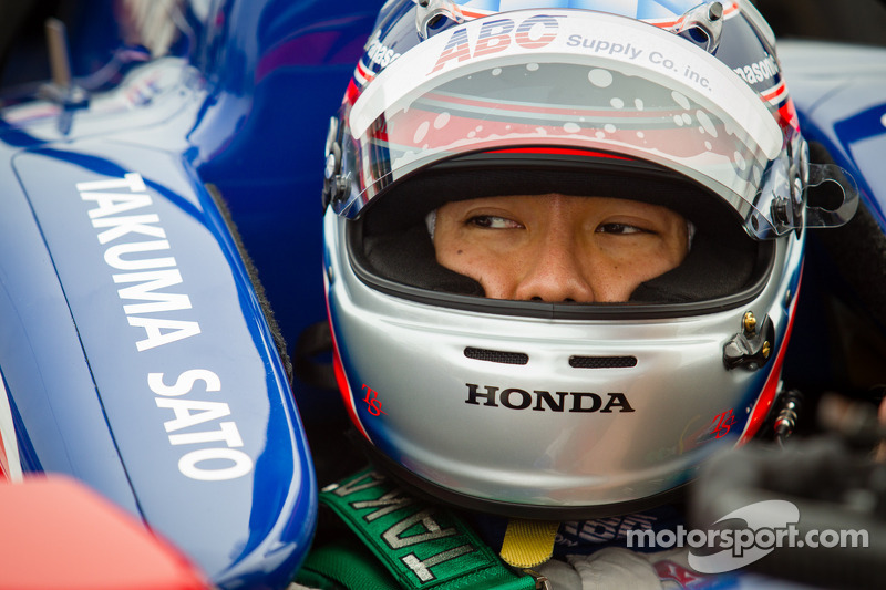 Honda: front row start for Sato at St. Petersburg