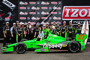 IndyCar Race report Hinchcliffe choice to run Firestone primary tires in St.Pete